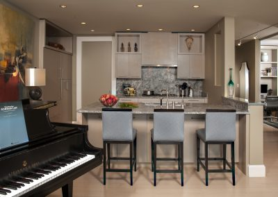 Urban Acoustic Haven Kitchen