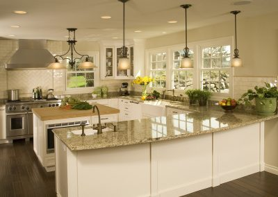 Farmhouse Country Estate Kitchen