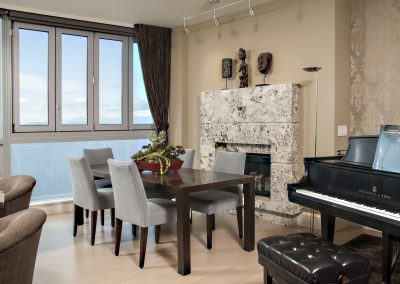 Urban Acoustic Haven Dining Room