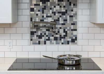 Tile mosaic and cooktop